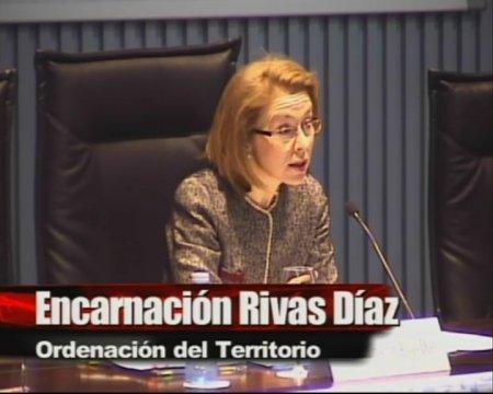 Encarnación Rivas Díaz. Ordenación do Territorio